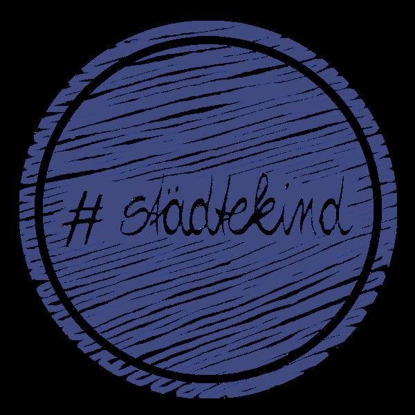 Städtekind Logo gemalt